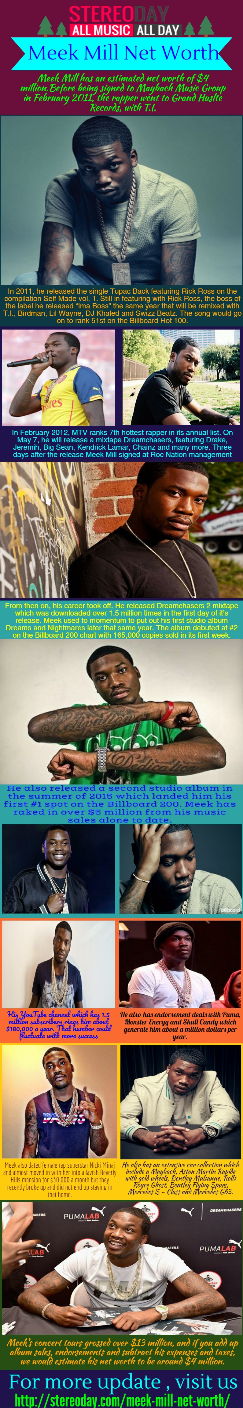 Free stock photo of how much is meek mill worth, meek mill