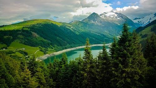 Free stock photo of green mountains, mountain