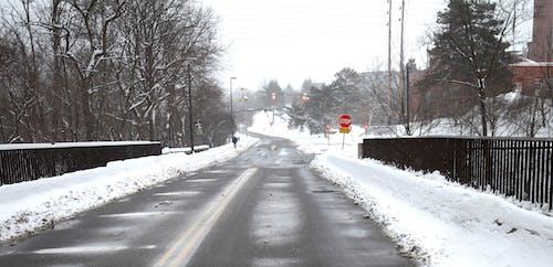 Foto stok gratis #snowclearedroads