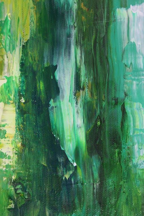 abstrakt, abstrakter expressionismus, abstraktes gemälde
