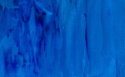 Blue Abstract Painting
