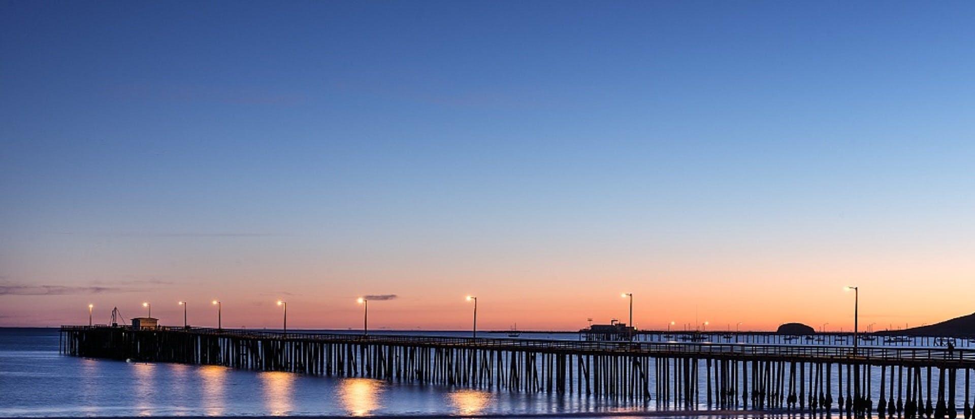 dawn, dusk, ocean