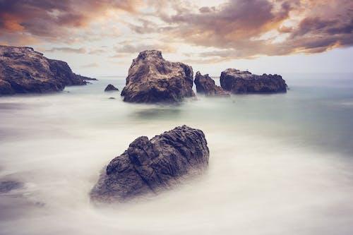 açık hava, bulutlar, çevre, deniz içeren Ücretsiz stok fotoğraf