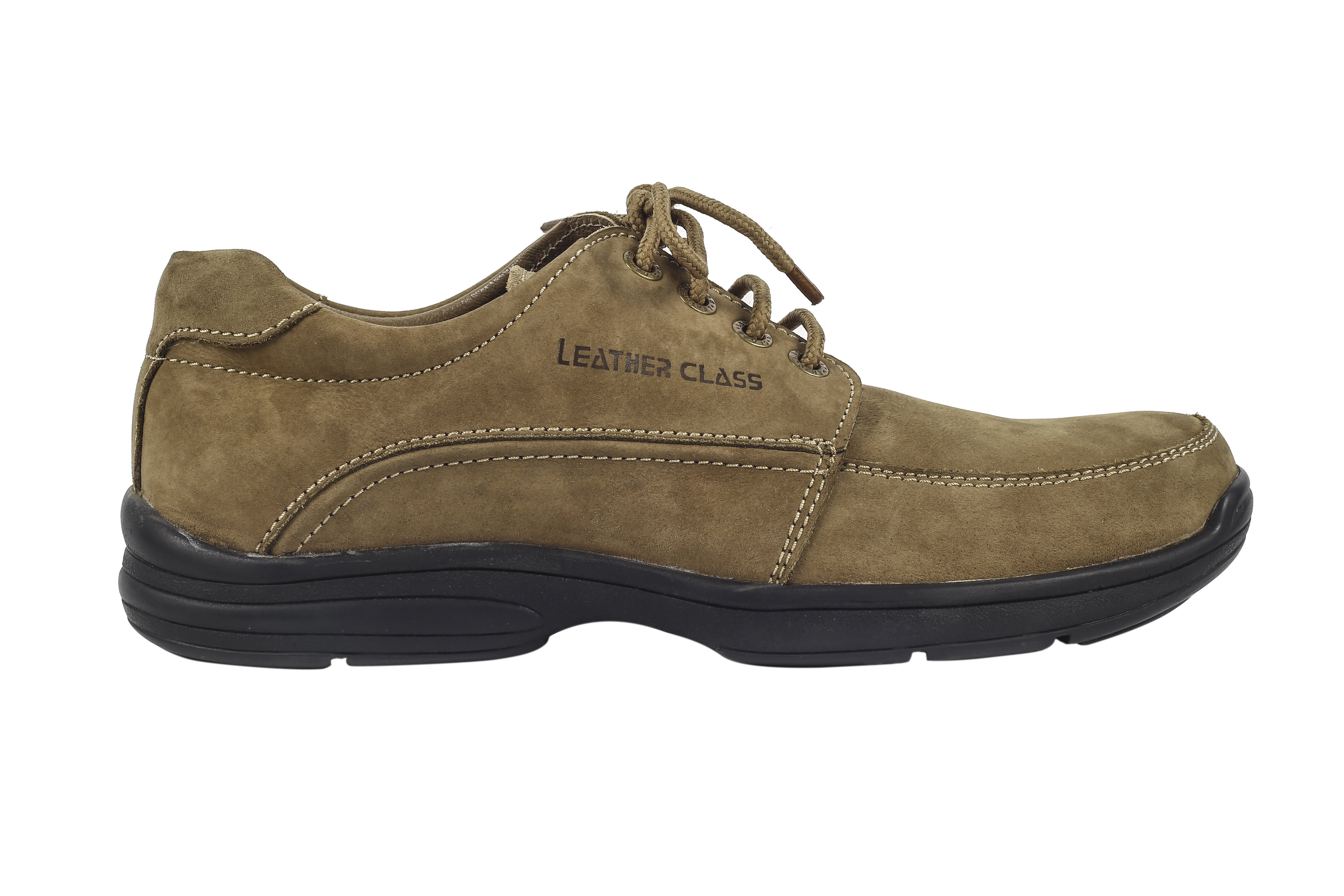 Brown Leather Class Lace-up Shoe