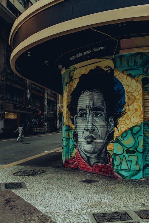 Foto profissional grátis de arquitetura, arte, arte de parede, arte de rua