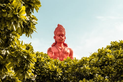Zdjęcie Hanuman Hindu God Statue