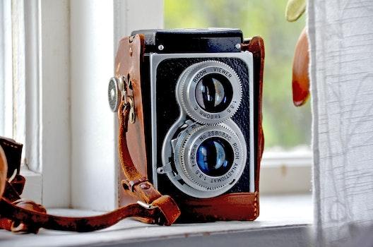 Free stock photo of camera, photography, vintage, retro