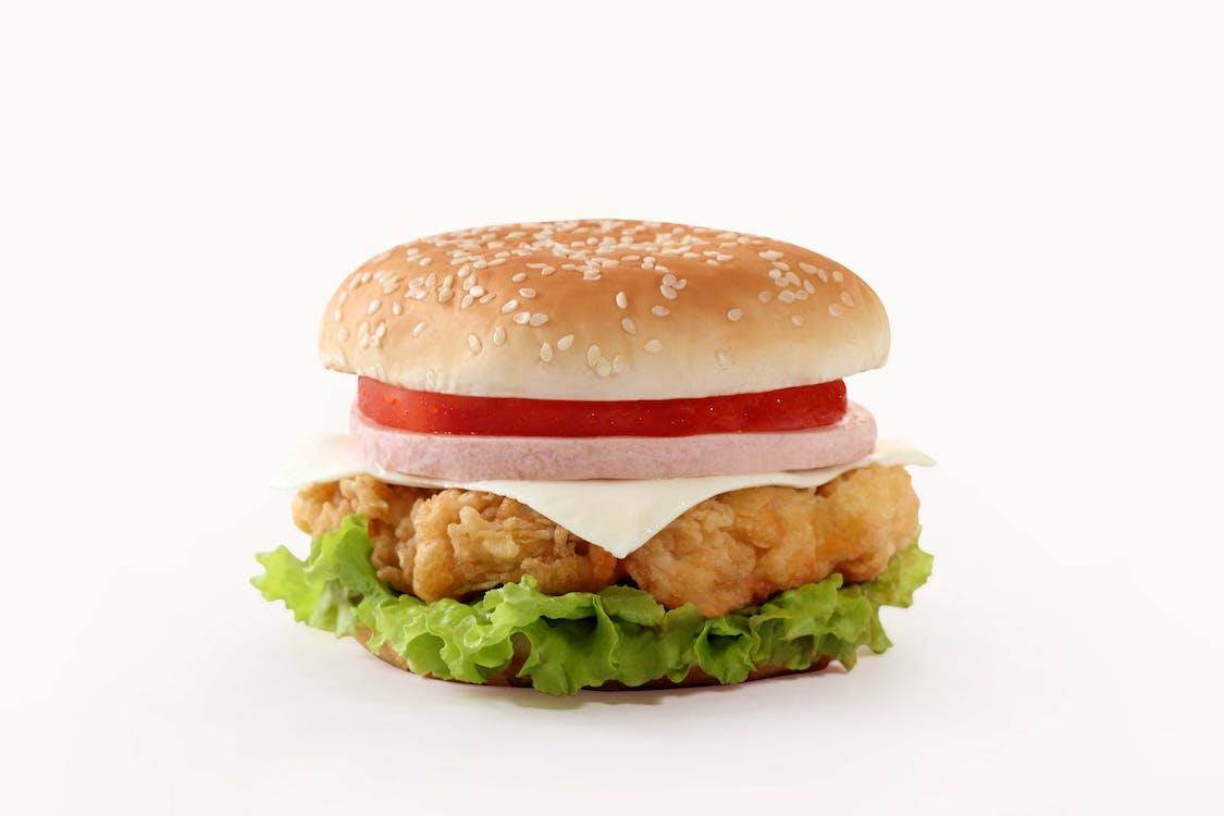 bánh bao, bánh hamburger, bánh kẹp