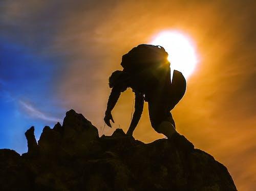 Ảnh lưu trữ miễn phí về alps, ánh sáng mặt trời, đỉnh núi, Hoàng hôn