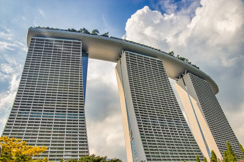 Low Angle Photo of Marina Bay Sands