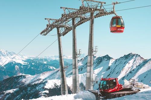 Foto profissional grátis de alpino, alto, aventura, bonde