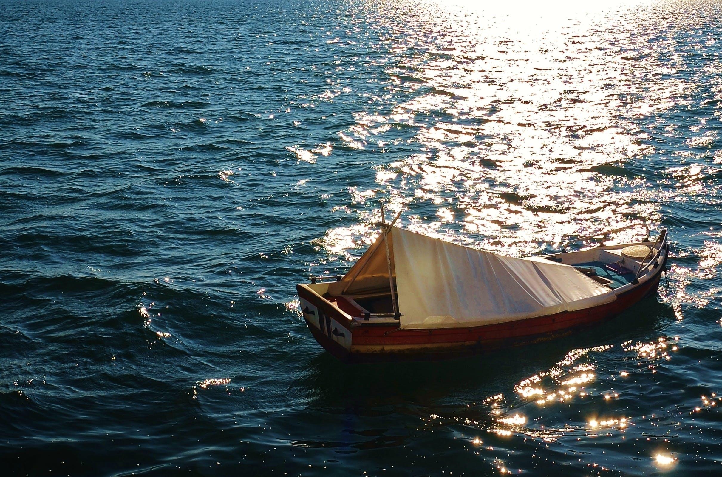 Free stock photo of fishing, sea, boat