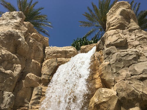 Free stock photo of dubai, waterfall, waterfalls