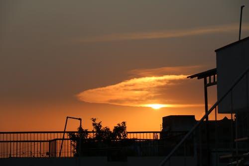 Безкоштовне стокове фото на тему «#clouds, #nature, #sky, #захід сонця»
