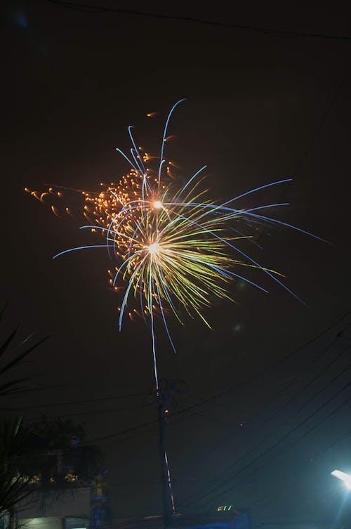 Free stock photo of celebration, fireworks, happy new year, new year