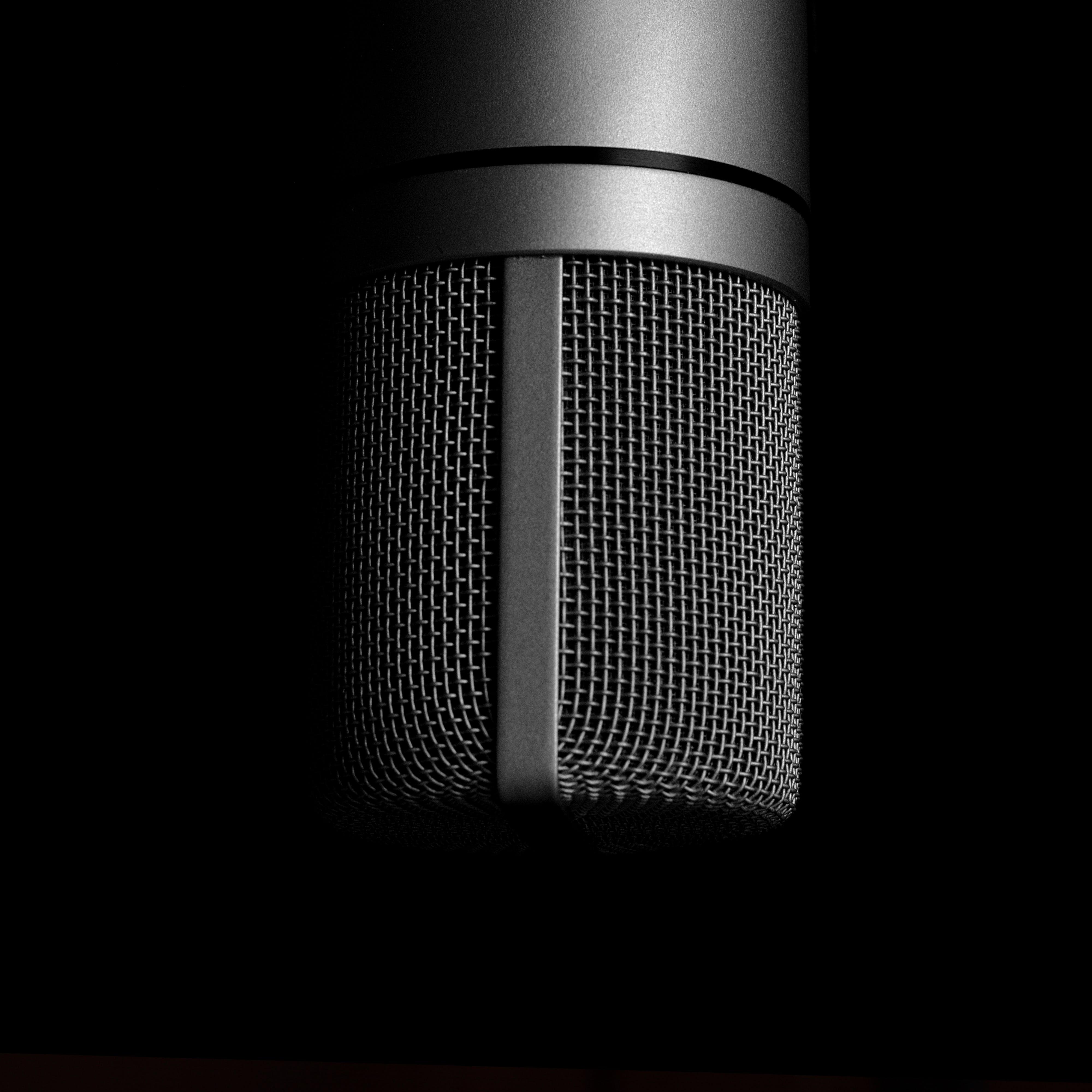 aluminum, audio, chrome