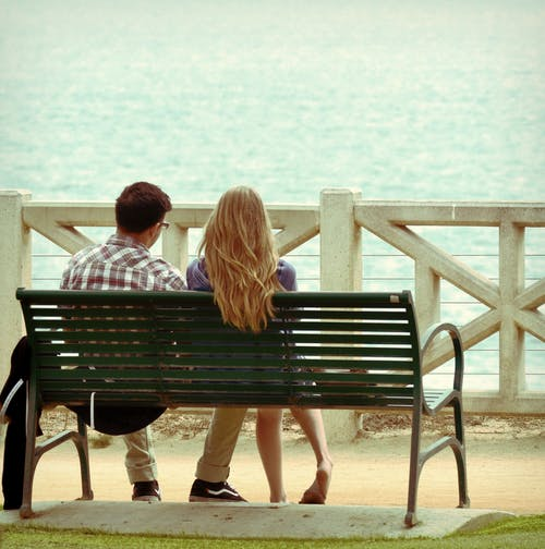 Free stock photo of beach pictures, couples, design