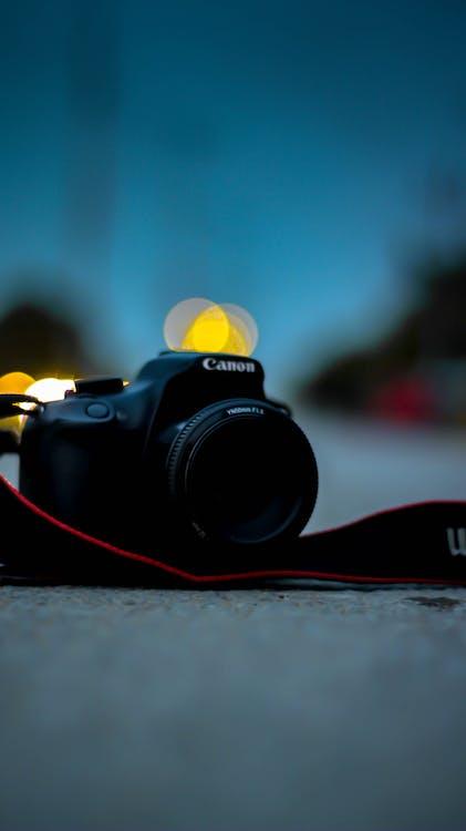 Free stock photo of bokeh, camera gear, canon