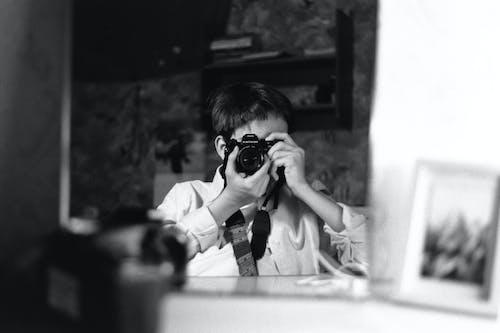 Fotobanka sbezplatnými fotkami na tému 35 mm film, čierna a biela, čiernobiely, ilford