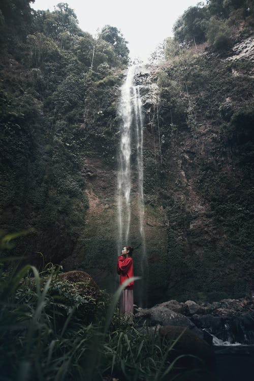 Бесплатное стоковое фото с азиатка, валуны, вода, водопады