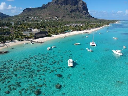 Бесплатное стоковое фото с #drone, #luxury, #mauritus, #vacance