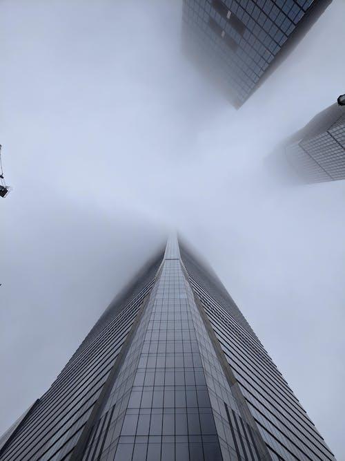 Základová fotografie zdarma na téma architektonický návrh, budovy, mlha, mrak