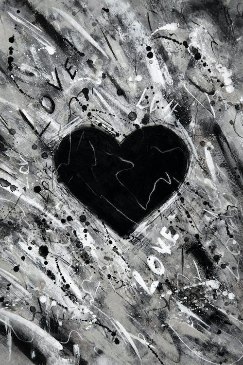Foto stok gratis acrylic, bentuk hati, cinta, kesenian