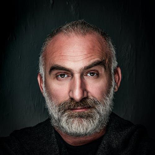 Бесплатное стоковое фото с haselblad, белый, Борода, глаза