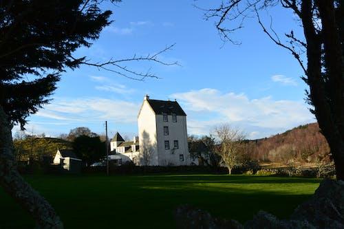 Free stock photo of blue sky, scotland