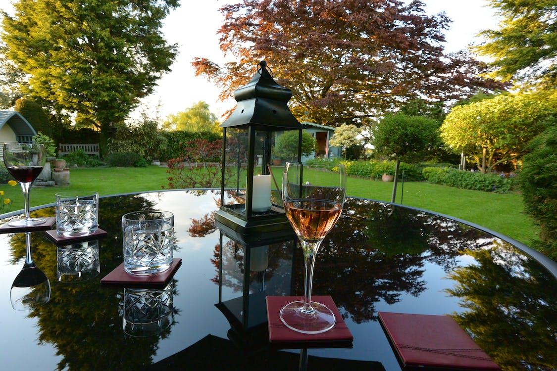 Free stock photo of beer garden, rose wine
