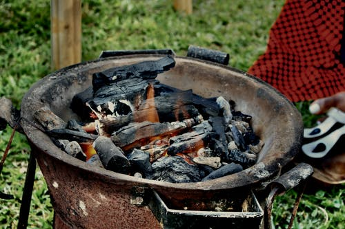 Darmowe zdjęcie z galerii z kuchenka węglowa