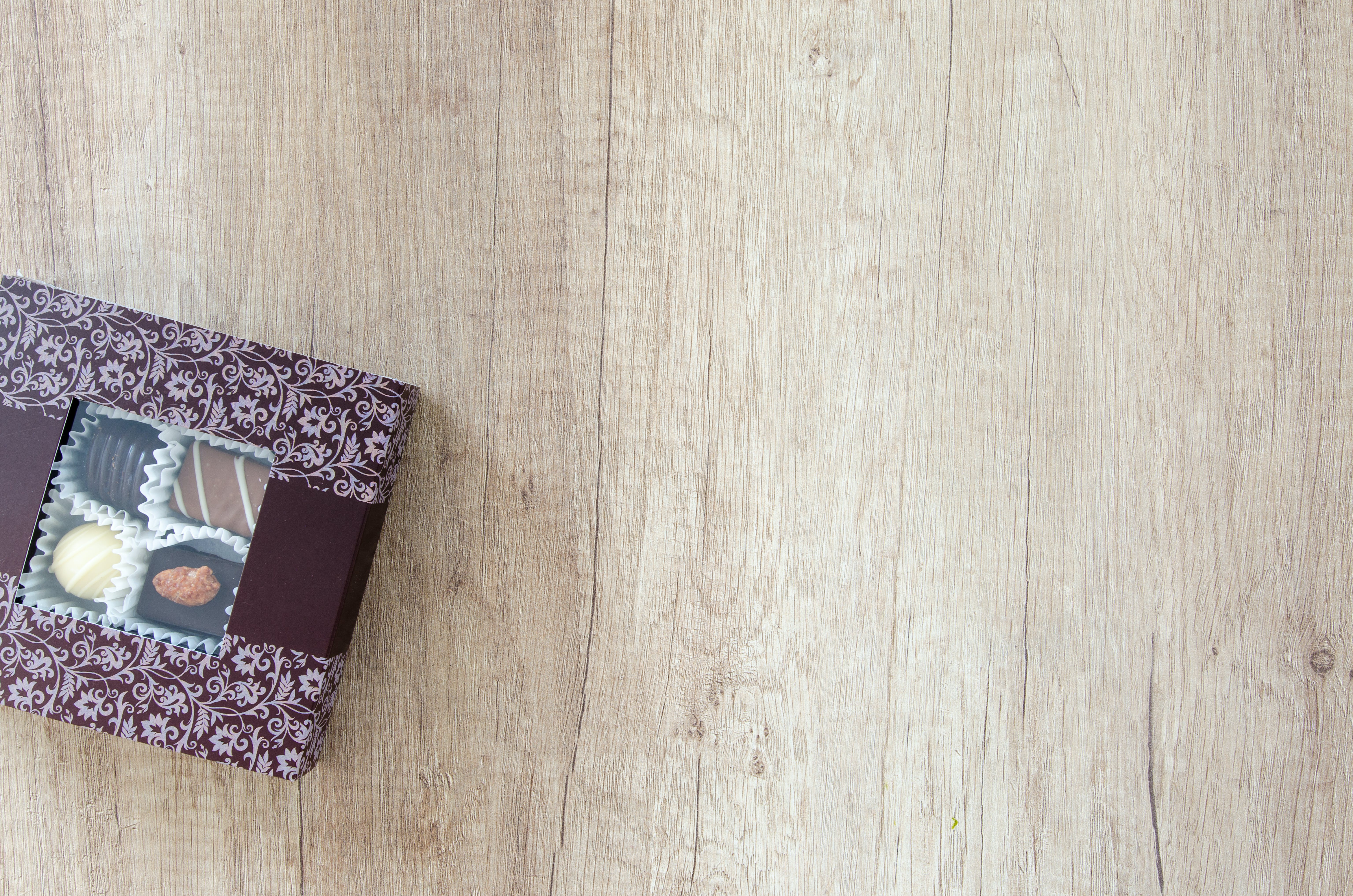 Chocolates Inside Box
