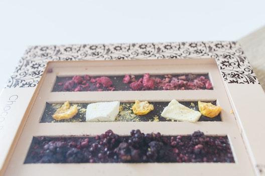Desktop background of food, healthy, wood, love