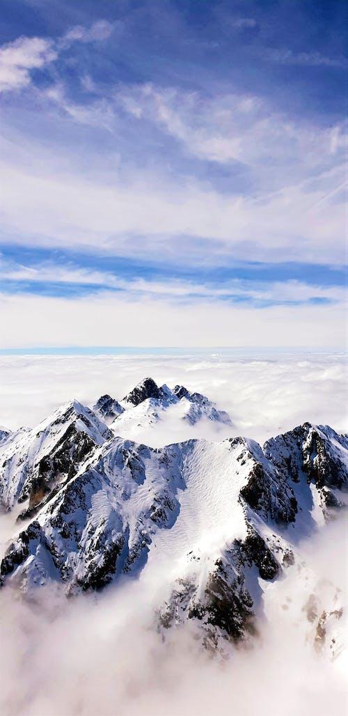 Free stock photo of cloud, dolomites, italy, marmolada