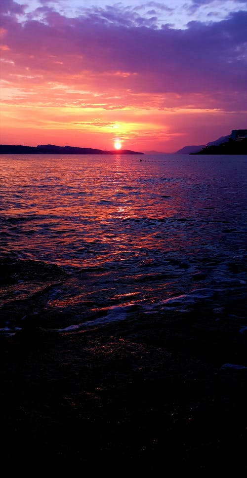 Free stock photo of Beautiful sunset, croatia, dubrovnik, islands