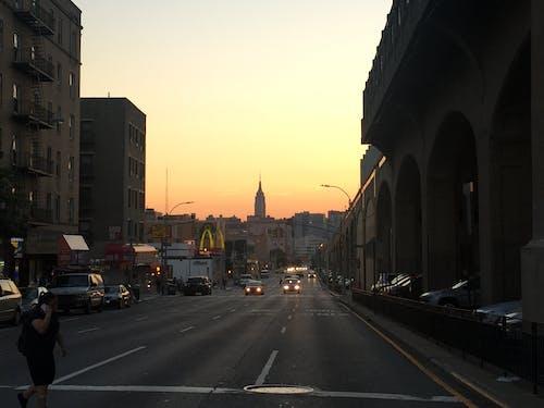 Free stock photo of nyc, queens, skyline, street