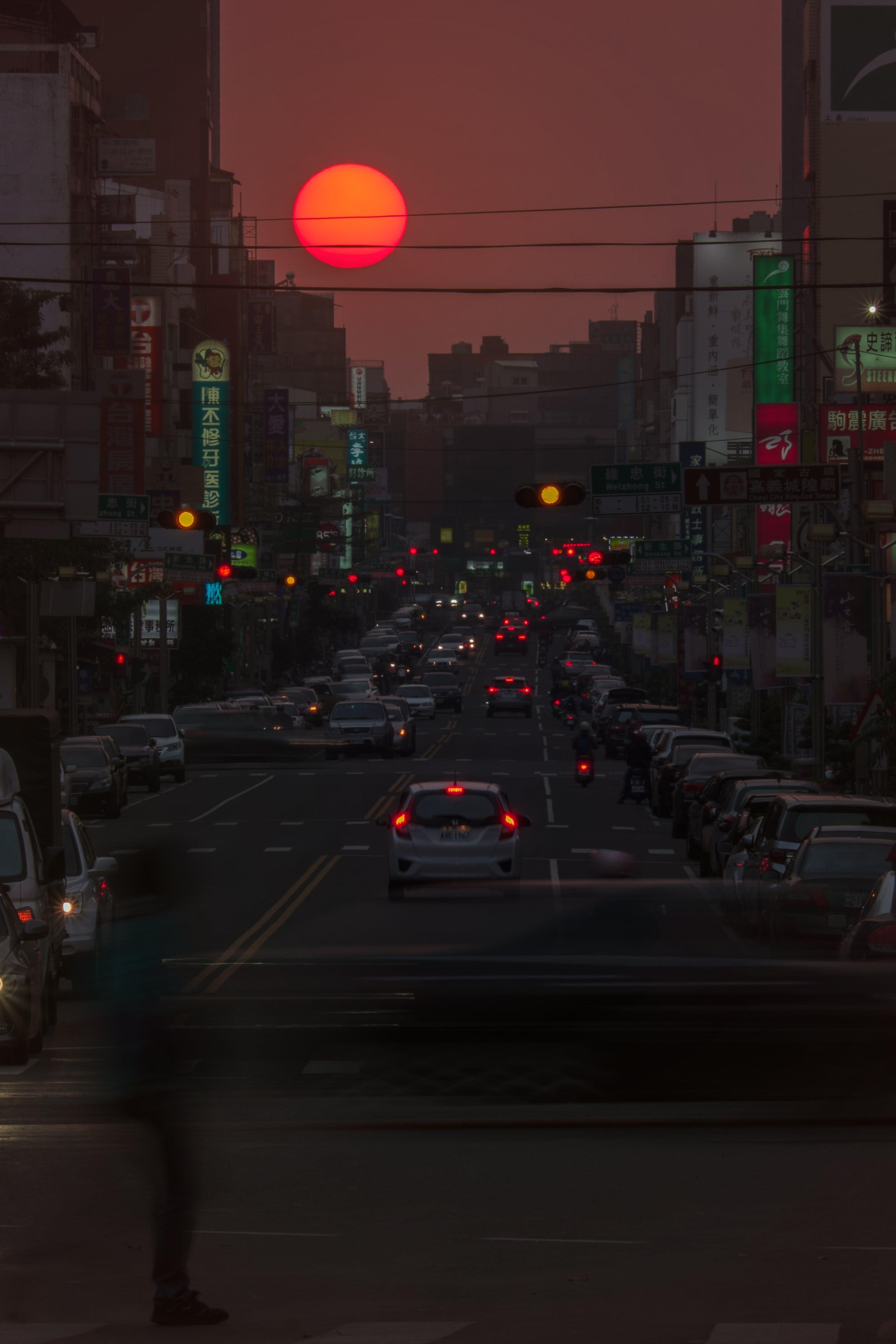 台灣, 太陽, 夕陽