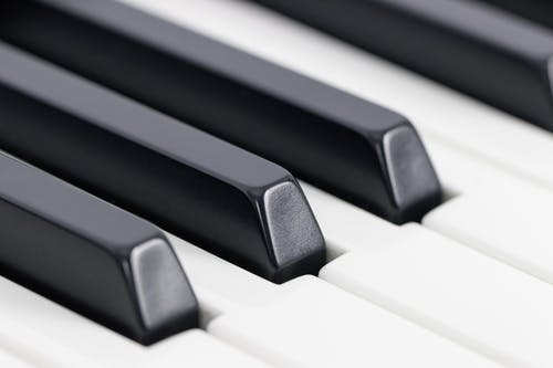 Close-Up Photo of Piano Keys