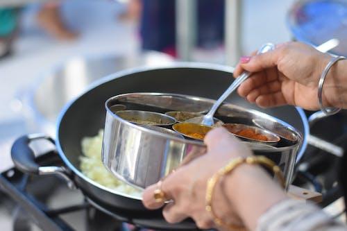 acı, akşam yemeği, aşçı, Asya yemeği içeren Ücretsiz stok fotoğraf