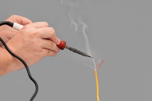 Immagine gratuita di attrezzatura, bianco, calore, cavo