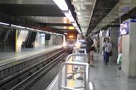 girl, abandoned, subway
