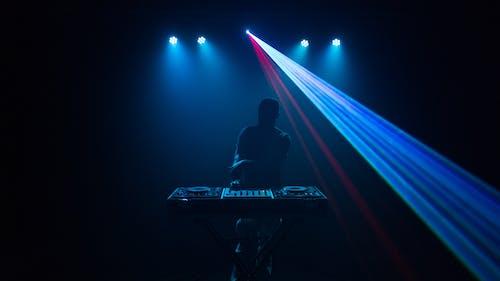 Immagine gratuita di attrezzatura, audio, azzurro, ballando
