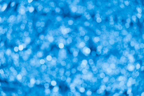Photo of Blue Bokeh Photography