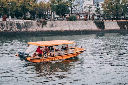 Fotos de stock gratuitas de agua, barca, barco a motor, canal