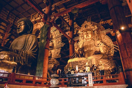 Free stock photo of buddha, buddhist temple, japan