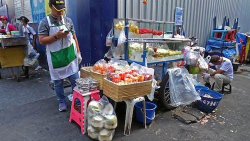 Základová fotografie zdarma na téma bkk, stánek, streetfood
