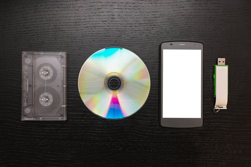 Free stock photo of accessory, background, black, cd
