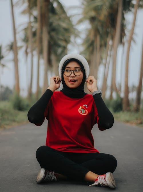 Ingyenes stockfotó gyönyörű lány, hidzsáb témában