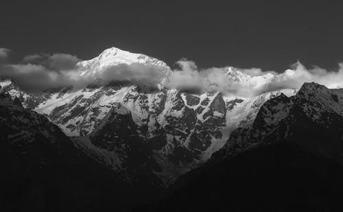Photo Of Snow-capped Mountain