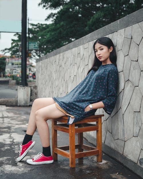 Free stock photo of alone, asian woman, beautiful, beautiful woman